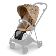 Луксозна тапицерия за седалка Cybex Mios Lux Simply Flowers Nude Beige