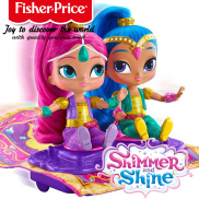 Fisher Price Shimmer and Shine Комплект с кукли и вълшебно килимче FHN24